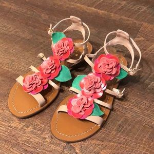 Kate Spade flower colombus sandals size 7.5